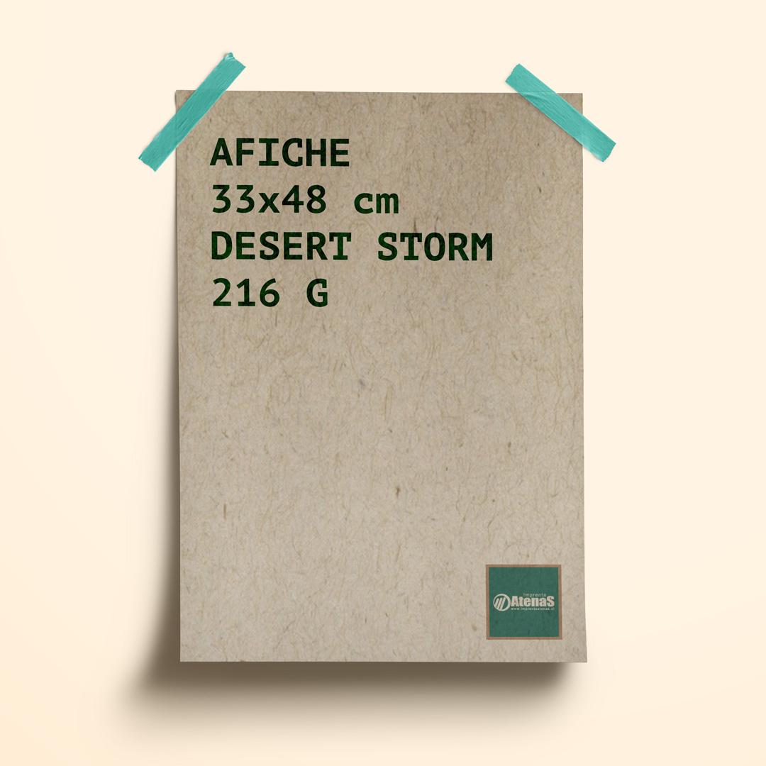 afiche desert